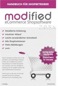 modified eCommerce Shopsoftware Handbuch
